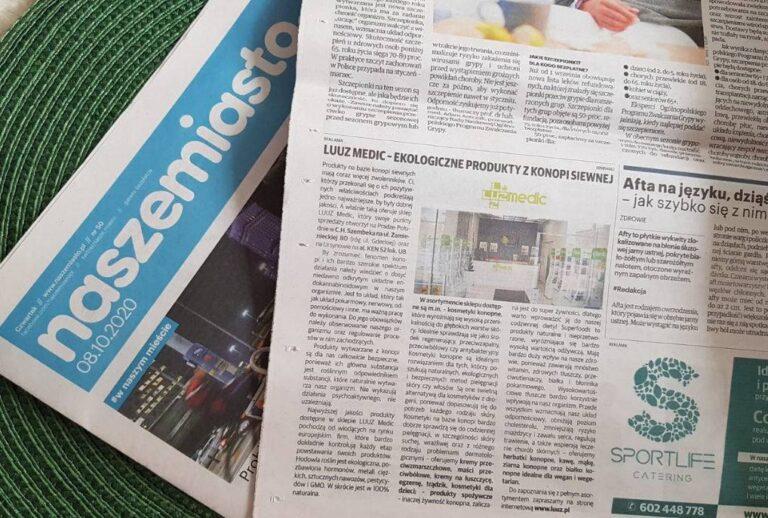 LUUZ Medic w gazecie NaszeMiasto!