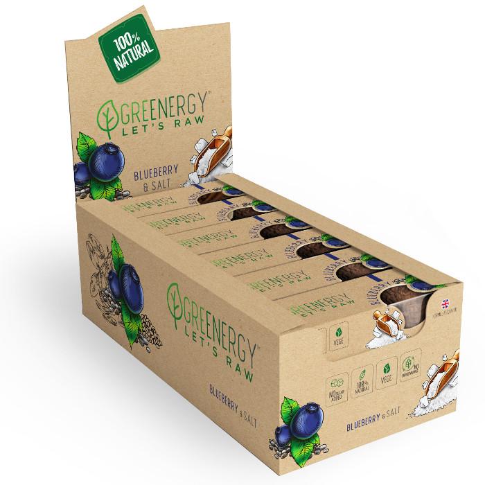 zdrowy batonik od greenergy to zdrowa przekąska a połączona jagoda i sól dają świetny smak