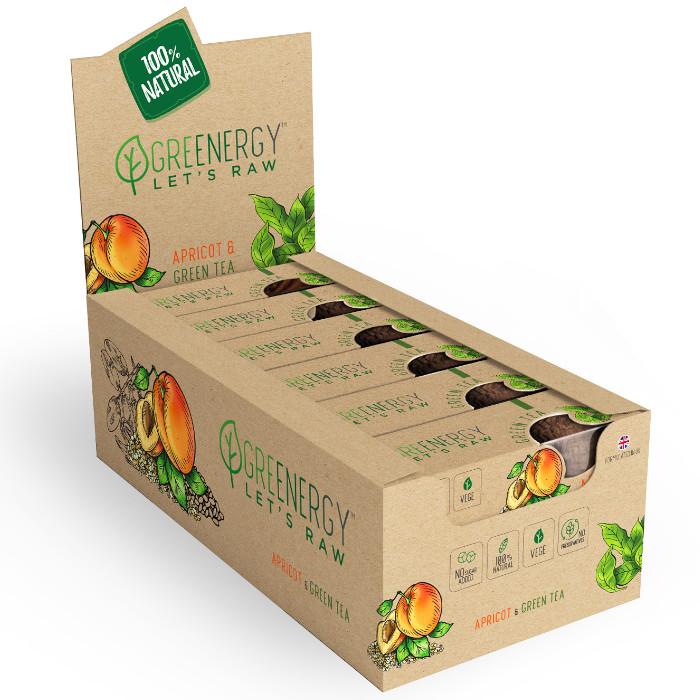 spróbuj zdrowej i w pełni naturalnej przekąski greenergy. to pyszny baton