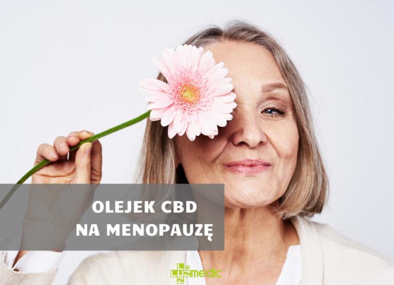 Olejek CBD a menopauza