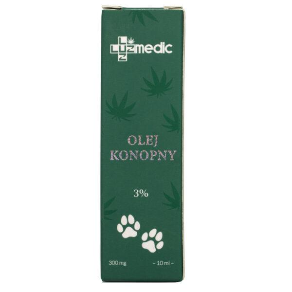 olejek cbd dla zwierząt luuz medic 3%