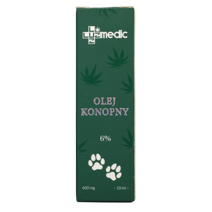 olejek cbd dla zwierząt luuz medic 6%
