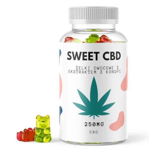 żelki CBD sweet dla dzieci i dorosłych