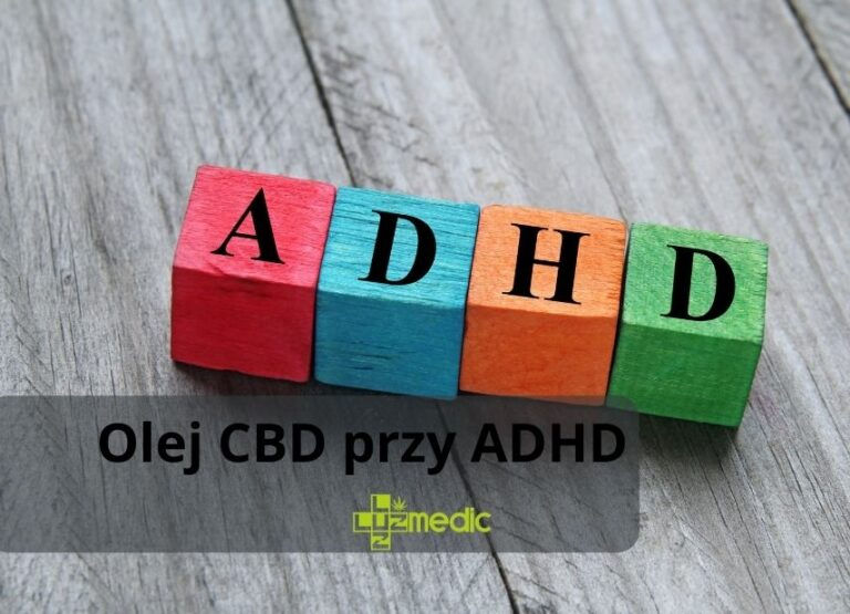 Olej CBD przy ADHD/ ADD