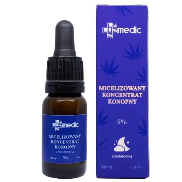 micelizowane CBD z melatonina 1